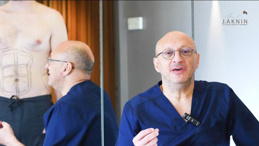 (Vidéo) : L'abdominal etching expliqué par le Dr Aknin