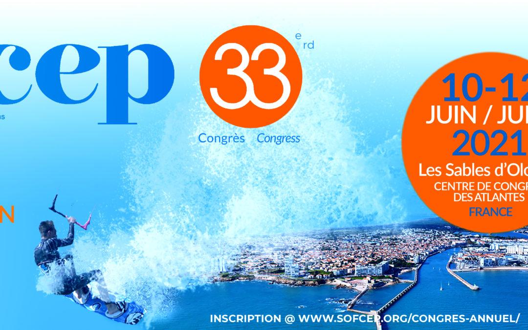 Congrès SOFCEP 2021 (33ème édition)